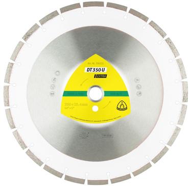 Klingspor DT 350 U Extra ø 350 mm BETON Laser Diamanttrennscheibe Trennscheibe