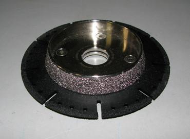 Diamanttrennscheibe ø 125 mm Vacuum Trennen Anfasen PVC PE100 Kunststoff Rohr  – Bild 1