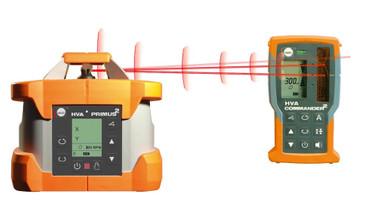 Nedo PRIMUS 2 HVA Rotationslaser vollautomatisch Laser horizontal vertikal Auto – Bild 2