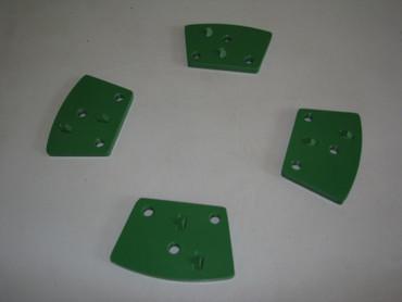 Schleifschuh-Set 4-tlg PKD ø 250 Abrasiv Beton Uni + Bodenplatte Bodenschleifer – Bild 4