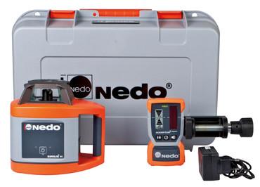 Nedo SIRIUS 1 H vollautomatisch Rotationslaser horizontal Laser m. Acceptor 2 digital – Bild 4