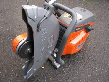 """Husqvarna Trennschleifer K 970 III 16"""" Benzin Motorflex + Diamantscheibe 400 mm – Bild 10"""
