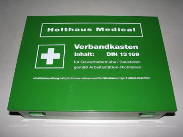 Betriebsverbandkasten groß DIN 13169 Holthaus 126 tlg. Verbandskasten Betrieb – Bild 1