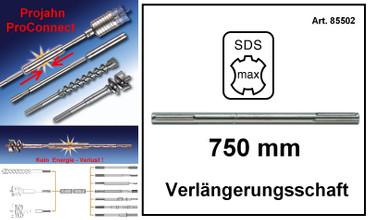 Projahn PROConnect Verlängerungsschaft SDS-max 750 mm Verlängerung Bohrer 85502 – Bild 1