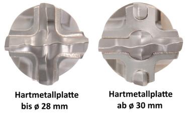 Projahn PROConnect SET 1 Adapter Hammerbohrer ø 35 x 370 SDS-max ROCKET 5 Beton – Bild 9