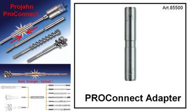 Projahn PROConnect Adapter mit 2x SDS-max für Fräskrone, Bohrer, Bohrkrone 85500 – Bild 1