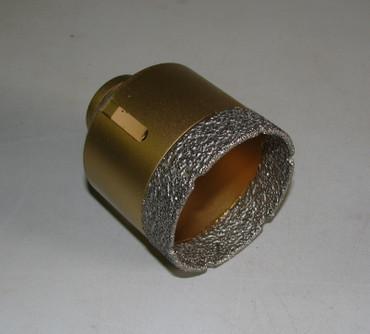 Diamant Fliesenbohrer ø 60 mm M14 Fliesenbohrkrone VACUUM Fliese Bohrer Premium – Bild 1