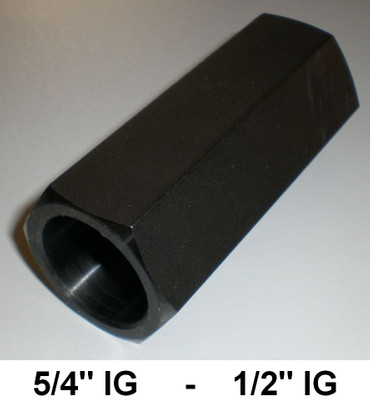 "Adapter Bohrkrone Kernbohrer 5/4"" IG auf 1/2"" Zoll IG Bohrkronenadapter Muffe"