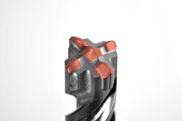 Projahn Hammerbohrer 7-tlg Kassette ROCKET 5 SDS-plus Bohrer Set Beton 5-Crusher – Bild 5