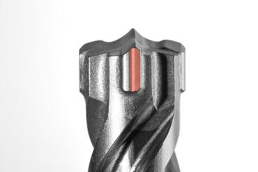 Projahn Hammerbohrer 7-tlg Kassette ROCKET 5 SDS-plus Bohrer Set Beton 5-Crusher – Bild 4