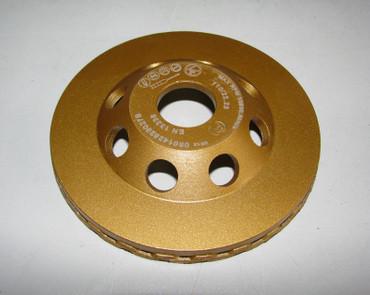 Diamant Schleiftopf Schleifteller ø 110 mm - Turbo Betonschleifer Topfschleifer – Bild 5