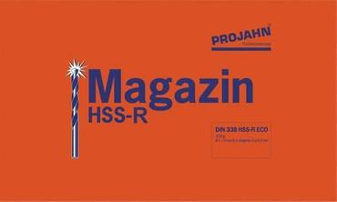 Projahn Spiralbohrer HSS-R Magazin 220 tlg DIN 338 HSSR Metallbohrersatz Bohrer – Bild 2