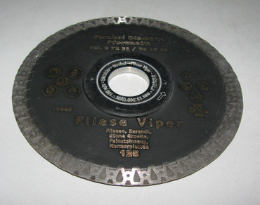 Diamanttrennscheibe ø 125 mm Fliese VIPER Feinsteinzeug Diamantscheibe Diamant – Bild 1