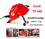 Diamant-Handtrennsäge CARDI TP 400 A2 Diamantsäge 160 mm Nasssäge Wandsäge Nass