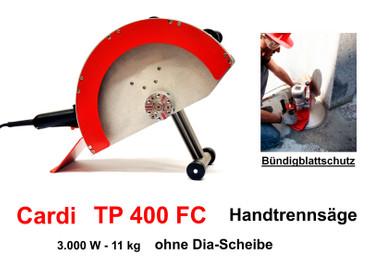 Diamant-Handtrennsäge CARDI TP 400 FC Bündigschnitt Fugensäge Wandsäge Nass – Bild 1