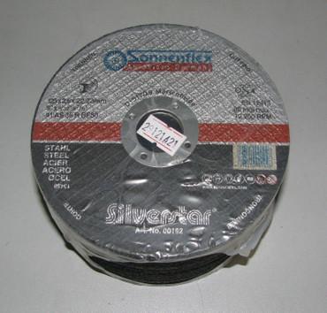 25 x Stahl Flexscheibe ø 125 x 2,5 x 22,2 mm Metall Trennscheibe PROFI Qualität – Bild 1
