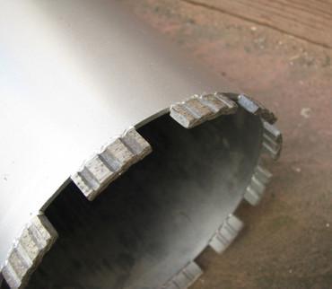 Diamantbohrkrone ø 250 mm BETON Nass Diamantbohrer Kernbohrer Diamant Bohrkrone – Bild 4