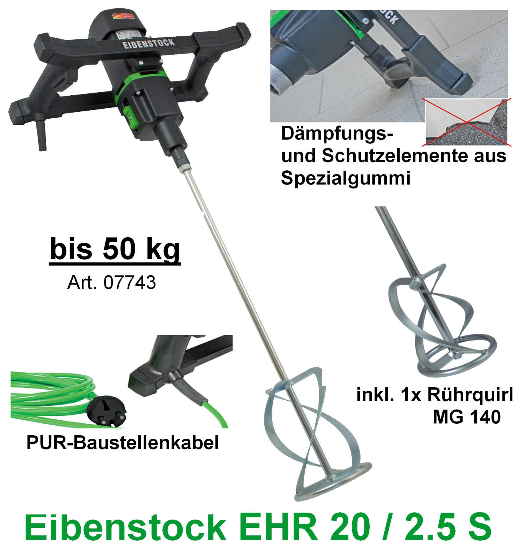 Handrührwerk EHR 130 BEL Rührwerk Mixer Rührgerät Rührer Beton Mischer
