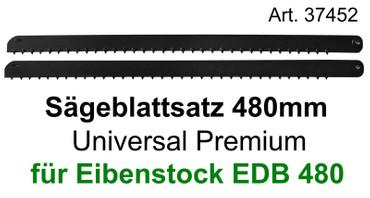 Sägeblattsatz für Eibenstock EDB 480.1 Poroton Ytong Holz Universal 2 Sägeblätter  – Bild 1