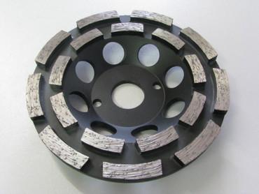 Diamant Schleiftopf Schleifteller ø 125 mm Abrasiv Estrich Estrichschleifer