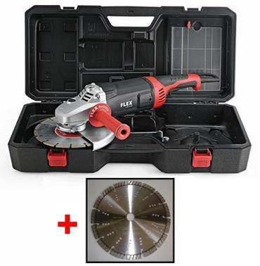 Flex L 26-6 230 T-REX Winkelschleifer 2600 Watt SoftVib + 2x Dia-Scheibe BETON  – Bild 1