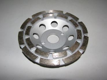 Diamant Schleiftopf Schleifteller ø 125 mm Beton Uni Universal Topfschleifer – Bild 1