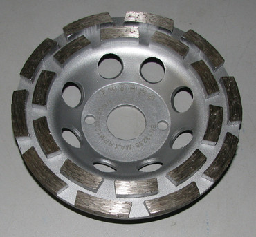 5x Diamant Schleiftopf Schleifteller ø 125 mm Beton Universal ECO Betonschleifer – Bild 3