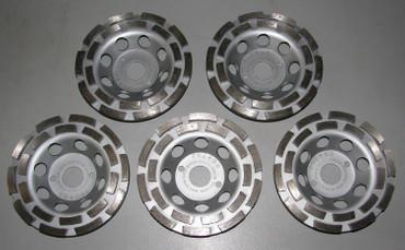 5x Diamant Schleiftopf Schleifteller ø 125 mm Beton Universal ECO Betonschleifer – Bild 1