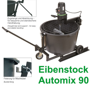 Eibenstock Mischstation Automix 90 Rührstation + Mischkühel Rührwerk Rührquirl – Bild 1