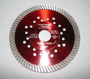 Diamanttrennscheibe 125 GRANIT Diamant Trennscheibe Diamantscheibe wie Red Devil – Bild 1