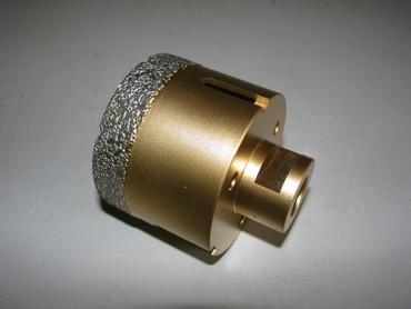 Diamant Fliesenbohrer ø 68 mm M14 Diamantbohrer VACUUM Fliese Bohrer Premium – Bild 1