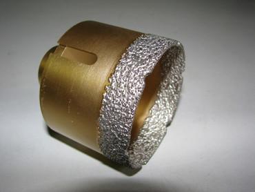 Diamant Fliesenbohrer ø 68 mm M14 Diamantbohrer VACUUM Fliese Bohrer Premium – Bild 3