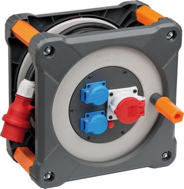 BRENNENSTUHL professionalLINE Kabeltrommel 400V RN 20 m H07RN-F 5G2,5 Kabel IP44 – Bild 1