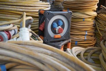 BRENNENSTUHL professionalLINE Kabeltrommel 400V RN 20 m H07RN-F 5G2,5 Kabel IP44 – Bild 5
