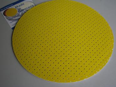 25x Schleifpapier perforiert K80 Superpad P ø 225 passend f. Flex WSE WST GE 5 R – Bild 3