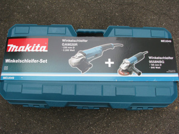 Makita Winkelschleifer DK0052G Set GA 9020 R + 9558 NBR Nachfolger MEU049  – Bild 1