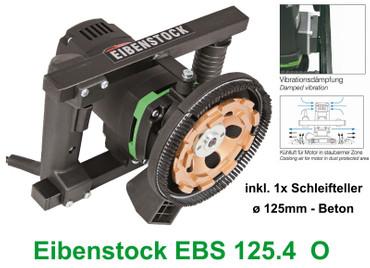Eibenstock Betonschleifer EBS 125.4 O + Beton Schleiftopf 125mm Estrichschleifer – Bild 1