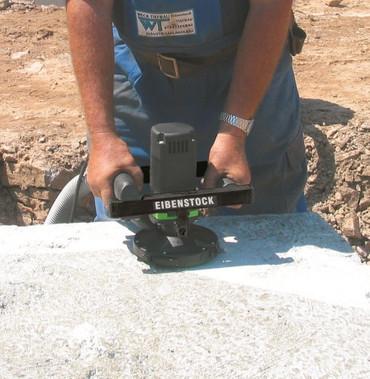 Eibenstock Betonschleifer EBS 125.4 O + Beton Schleiftopf 125mm Estrichschleifer – Bild 10