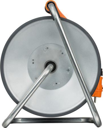 BRENNENSTUHL Kabeltrommel SteelCore Stahl 50 m H07BQ-F 3G1,5 Kabel IP44 BGI 608 – Bild 8