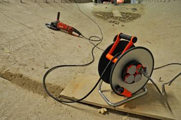 BRENNENSTUHL Kabeltrommel SteelCore Stahl 25 m H07RN-F 3G2,5 Kabel IP44 BGI 608 – Bild 8