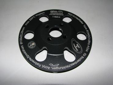 Schleifteller PKD Rondo Ultra AGM ø 150 Spachtelmasse, Klebereste passend DG 150 – Bild 8