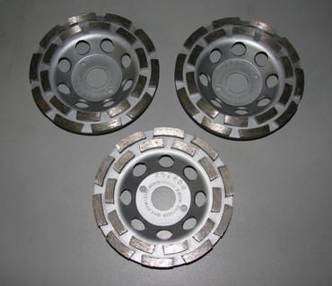 3x Diamant Schleiftopf Schleifteller ø 125 mm Beton Universal ECO Betonschleifer – Bild 1