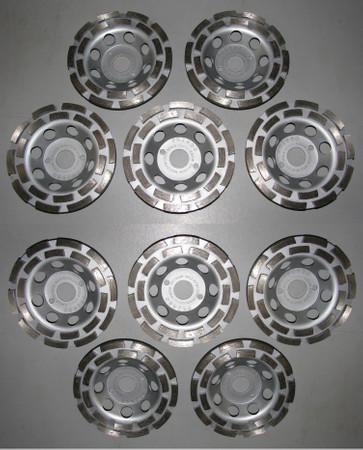 10 x Diamant Schleiftopf Schleifteller ø 125 Beton Universal ECO Betonschleifer – Bild 1