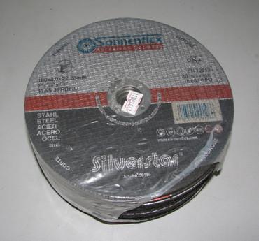 25 Stahl Trennscheibe ø 180 x 3,0 x 22,2 mm Metall Flexscheibe PROFI-Qualität – Bild 1