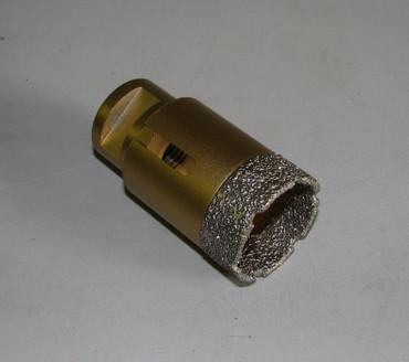Diamant Fliesenbohrer ø 40 mm PROFI Diamantbohrer VACUUM Fliese Bohrer Premium – Bild 1