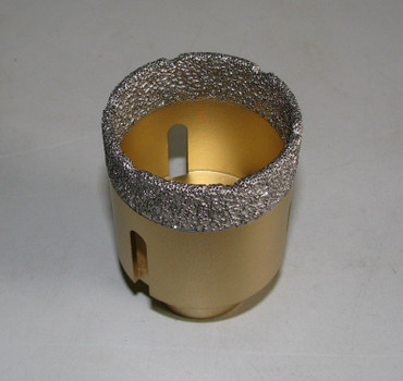 Diamant Fliesenbohrer ø 55 mm M14 Diamantbohrer VACUUM Fliese Bohrer Premium – Bild 2