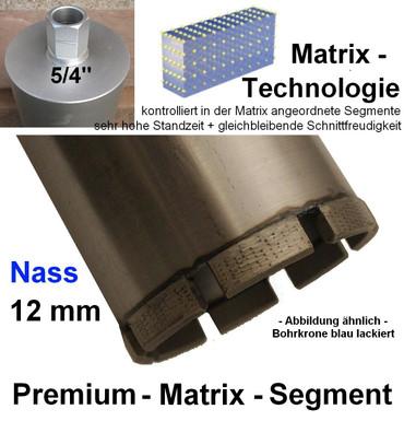 Diamant-Bohrkrone ø 82 MATRIX Segm. PREMIUM Kernbohrer Diamantbohrkrone 80 ARXX – Bild 1