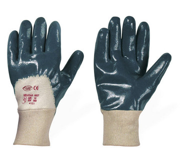 36 P. Handschuhe Nitril Navystar blau Gr 8 10 Arbeitshandschuhe Nitrilhandschuhe
