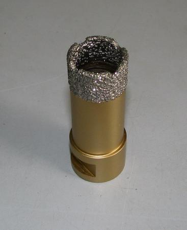 Diamant Fliesenbohrer ø 25 mm M14 Diamantbohrer VACUUM Fliese Bohrer Premium – Bild 1