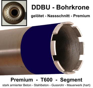 Diamantbohrkrone BETON 132 mm DDBU Aufnahme passend für u.a Hilti Kernbohrer 130 – Bild 1